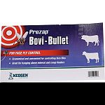 Great for hanging above mineral and creep feeders. Apply 1 pint of insecticide solution to the top of of the bovi-bullet. Economical and convenient especially when it comes to controlling face flies. Made in the usa