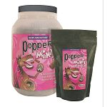 Bite sized concentrated fortified grain treat for horses, ponies and mules from mini to draft size. Peppermint flavored.