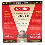 For use in homes, attics, basements, garages, apartments, household storage areas, kennels, boats, horse stables and more. Combines three insecticides that kill a wide range of fleas, ticks, larvae and other insects. 3 Pack