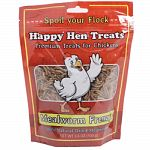 Tasty all-natural dried mealworms offer chickens the taste they love without the inconvenience of live worms.