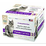 For the vaccination of healthy cats, 8 weeks or older. Aids in the prevention of diseased caused by feline rhinotracheitis, calici, and panleukopenia viruses. Injectable for easy administration in adult cats. Mlv fractions for rapid immunity. F9 calici an