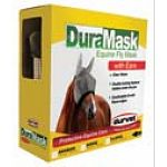 Duramask Fly Mask for Horses repels pests such as flies and insects that irritate or bite your horse. Helps to keep your horse comfortable and provides him with clear vision. It has a double locking fastener that stays under the jaw and is out o