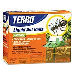 Kills ants outside before they get inside. Attracts and kills all common household ants. Ready-to-use liquid ant bait stations for controlling of sweet eating ants. Prefilled for no drips or mess. Ants carry the Terro back to the nest.