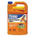 Kills up to 12 months. Indoor and outdoor use. Effective on over 30 different insects. Convenient 1 gallon spray bottle.