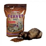 Specifically formulated for aging (4+ years), less active & overweight ferrets. Same winning formula as Marshall Premium Ferret Diet but made with 10% less fat and protein to meet the nutritional needs of less active or senior ferrets. 4 lbs.