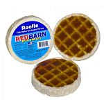 Scrumptious rawhide waffles with the delicious hint of maple syrup scent and flavor. A yummy reward or snack for your puppy or dog! Size: Approximately 3 inch diameter (each roofle) (Case of 50 roofles)