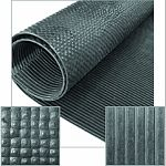 Perfect as flooring for kennels, cages, grooming, pens, hutches, stock pens, coops, vet offices, agility/obedience training Non-porous surface will not harbor bacteria Traxion grip top pattern reduces slip and slide, grooved bottom allows drainage and giv