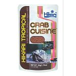 If you're looking for an excellent diet for your pet hermit crab, look no farther, Crab Cuisine by Hikari will keep him in top form and resistant to disease. High in enriched calcium to promote shell development and overall good health.
