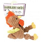 Contains a squeaker, a grunter and crinkle to keep your pet entertained for hours. Lined with hugglehounds super-durable, patent-pending tuffut technology, delivering the strongest plush toy for your pet. No external seams that aggressive chewers can open