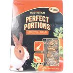 Essential blend for adult rabbits Healthy, complete meal, pre-measured for your convenience Carefully compacted into colorful cakes No spills and no waste Eliminates the risk of over-feeding Made in the usa