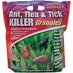Prevent infestations of ants and other insects outside your home with Bonide Ant, Flea, & Tick Killer Granules. These ready to use granules may be applied to the soil and turf around house foundations and directly to ant hills or mounds.