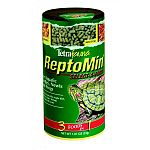 ReptoMin Select-a-Food contains three reptile foods in one convenient container, including staple foods and treats. Great for turtles, amphibians and other kind of reptiles. Containers has ReptoMin Baby Sticks in two compartments.