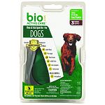 For large dogs and puppies 31-60 lbs, 3 month supply Kills adult fleas and ticks and contains an insect growth regulator to kill flea eggs and larvae for up to 30 days Water resistant in humid and wet conditions Contains lanolin to help condition coat Con