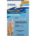Flea and tick control for cats and kittens under 5 pounds. Do not let animal ingest. Use on cats under 5 pounds.