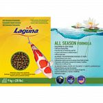 All season floating pellets Nutritious diet for all cold water pond fish Contains multi-vitamins and stabilized pond fish Will not cloud water
