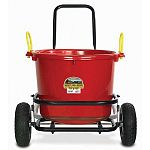 The Muck Cart with Pneumatic Wheels by Miller Mfg. ideal for helping you to do chores around the barn or in your garden. This durable cart is designed to hold up to 350 lbs. of weight. Use with the muck tub sold separately.