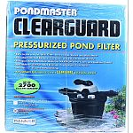 Easy to use and versatile: filters, backwashes, rinses, and more Reusable filter pad removes fine debris and polishes water quickly Biological and mechanical media for maximum water clarity and healthier ponds