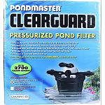 Easy to use and versatile: filters, backwashes, rinses and more Reusable filter pad removes fine debris and polishes water quickly Biological and mechanical media for maximum water clarity and healthier ponds Uv clarifier helps eliminate green water from