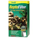 ReptoFilter for Terrariums is designed for creating waterfalls, maintaining clean water, improving air quality and the terrarium environment. Great for any size aquarium. Filter has a three stage filtering process that removes debris and discolored water.