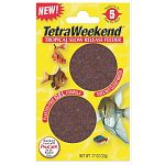 Tetra's innovative new gel feeder blocks contains no plaster and feed from five days with the TetraWeekend, or to up to 14 days with the TetraVacation. Will not pollute water or negatively effect water quality.