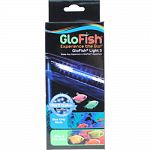 Kit includes waterproof led light, frame clip, cord routing clips, light switch, and low voltage transformer For 5 gallon aquariums and has 2 modes: blue only and white and blue Easy to install Gives fluorescent fish and other tropical fish, a vibrant loo