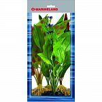 Pack contains 4 silk plants: adventitious ozelot, amazon sword, dragon flame, mermaid weed Provides cover for the fish and reduces fish stress Easy to install and clean