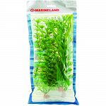 Pack contains 3 silk plants: 12 in corkscrew val, 12 in ambulia, and 12 in moneywort Provides cover for the fish and reduces fish stress Easy to install and clean