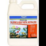 Instantly neutralizes chlorine, copper, lead and zinc, as well as other heavy metals found in tap and well water One ounce treats 600 gallons of pond water Safe for fish, plants and wild life Made in the usa