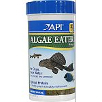 Sinking wafer for all algae eating fish Releases up to 30% less ammonia For clean, clear water Optimal protein for healthy growth and healthy environment