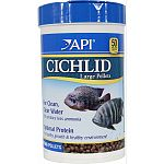 For large cichlids; greater than 5 inches Release up to 30% less ammonia For clean, clear water Optimal protein for healthy growth & healthy environment