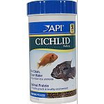 For all types of cichlids Release up to 30% less ammonia For clean, clear water Optimal protein for healthy growth & healthy environment