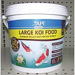 Superior pellet diet for koi over 8 inches. High protein utilization produces less waste. Natural zeolite to reduce toxic ammonia. Innovative nutrition that helps enhance color and growth.
