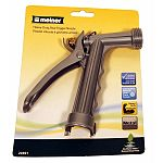 Durable metal construction Classic nozzle design Built-in trigger lock Lifetime warranty