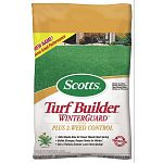 Scotts Turf Builder WinterGuard With PLUS 2 Weed Control - formerly Scotts Winterizer With PLUS 2 Weed Control - new name, same great product! Kills weeds now for fewer weeds next spring! Builds stronger, deeper roots for winter.