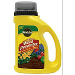Prevents weeds up to 3 months. Easy to use shake n feed bottle and applicator.   Prevents weeks without harm