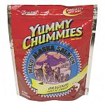 Yummy Chummies Salmon Dog Treat - Soft N Chewy - Dogs go absolutely crazy for these salmon treats and your dog will too! We guarantee that your pet will love Yummy Chummies. Manufactured in Alaska, using Alaskan Salmon.
