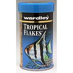 Wardley Premium Tropical Flakes is a nutritionally balanced diet for all tropical fish. This food contains natural attractants and pre digested protein sources to help enhance the growth, color, and health of all tropical fish.