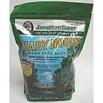 Use this grass seed in any dry or damp shady area in your yard for growing lush, healthy grass. Made with endophyte grass seed to help resist insects and keeps your lawn looking great. Available in three sizes.
