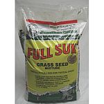 This high quality grass seed mix is made with endophytic grass varieties that help deter insects from damaging your lawn. High quality and looks great for a long time. Great for use in areas that get full sun coverage. Available in several sizes