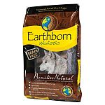 Dogs still crave animal nutrition, and grain-free Earthborn Holistic® Primitive Natural is formulated to provide the taste he loves and the nutrition he needs for physical well-being and good health