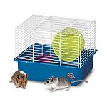The One Story Hamster Home makes a cozy little home for your pet hamster, mouse or gerbil. Home is designed to provide a safe and entertaining place to keep your small animal pet. It is built to last and comes with a comfort wheel.