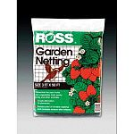 This garden netting by Ross helps to keep birds and animals from taking vegetables in your garden. Netting is a square shape and may be used as a temporary fence. Lightweight and easy to setup. Netting may be cut to the desired shape.
