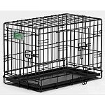 Designed completely around the safety, security and comfort of your Dog. The iCrate Double door dog crate sets up easily with the fold and carry configuration that requires no use of tools and can be completed by almost anyone.