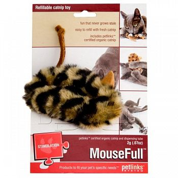 Mousefull Refillable Catnip Toy