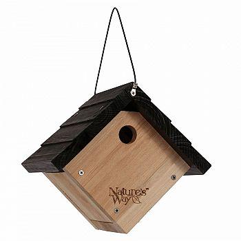 Cedar Wren Traditional Hanging Bird House