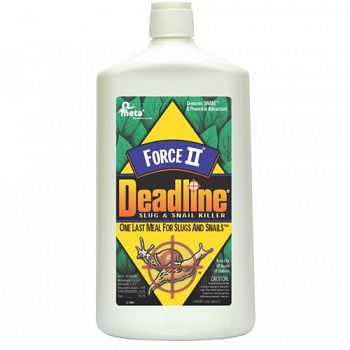 Deadline Force II Slug and Snail Killer 32 oz.