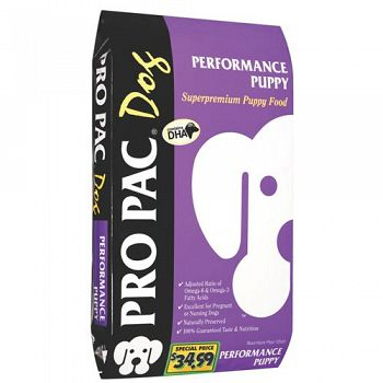 Pro Pac Performance Puppy Food 33 lbs