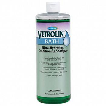 Vetrolin Equine Bath Shampoo - 32 oz.