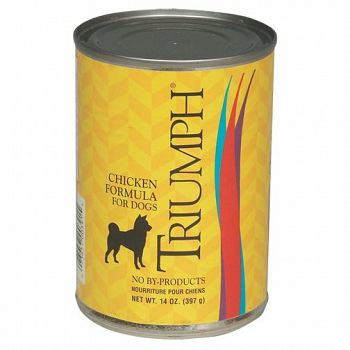 Triumph Can Dog Food Chicken 13.2 oz ea. (Case of 12)