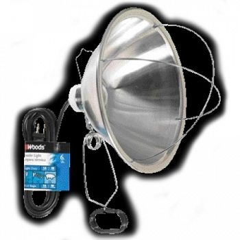 Brooder Lamp with Clamp - 6 ft.